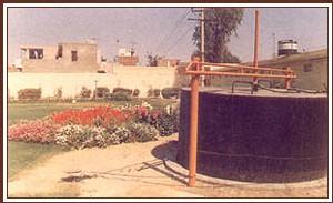 Production de biogaz par les déjections humaines