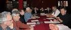 Réunies, hier, à la suite du saccage des locaux d'Eau et Rivières, la veille, les associations bretonnes de défense de l'environnement ont dénoncé la « démagogie » d'un syndicat agricole et l'attentisme de l'État. (Photo T.C.