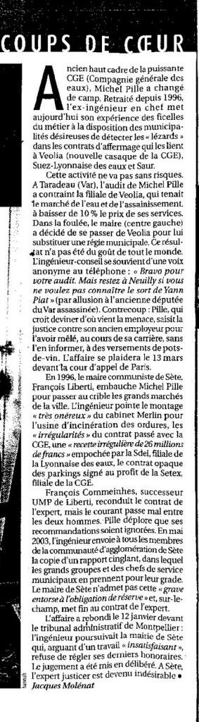 Michel Pille : un transfuge de la CGE au service des collectivités