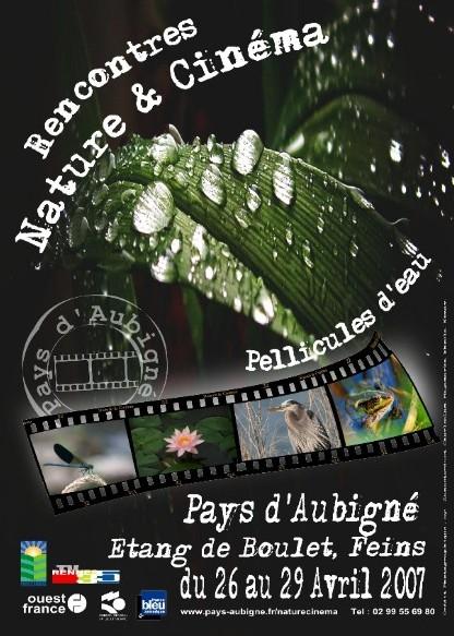 Rencontres nature et cinéma du 26 au 29 avril 07