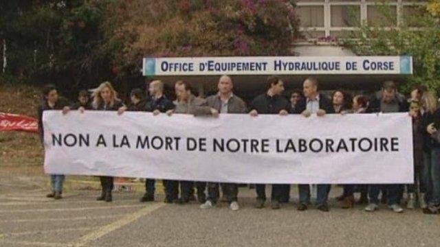 CORSE...Marché de l'eau potable : perte du contrôle du marché de l'eau potable : Grève à l'Office Hydraulique de la Corse