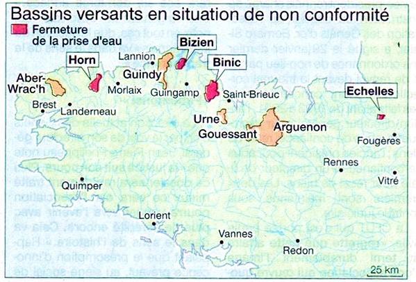 Pollution par les nitrates en Bretagne. Bientôt la sanction ?