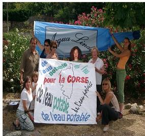 Au total 153 communes sur les 360 que compte la Corse rencontrent d'importants problèmes liés à la qualité de l'eau