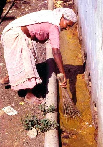 Le nettoyage des lattrines