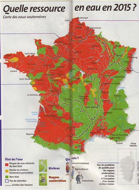 Politique de l'eau : La faillite à prix d'or: une enquête de 'Que Choisir' de Mai 2007