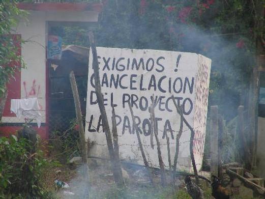 MEXIQUE : La lutte des paysans mexicains contre le projet de barrage de La Parota