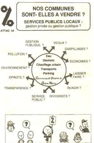 Municipales à NANCY : Un débat organisé par l'ATTAC et ACME-France