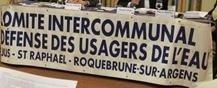 Saint-Raphaël : Les usagers de l'eau pour un paiement partiel des factures