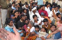 Un appel de l'Inde à la solidarité  dans la protestation