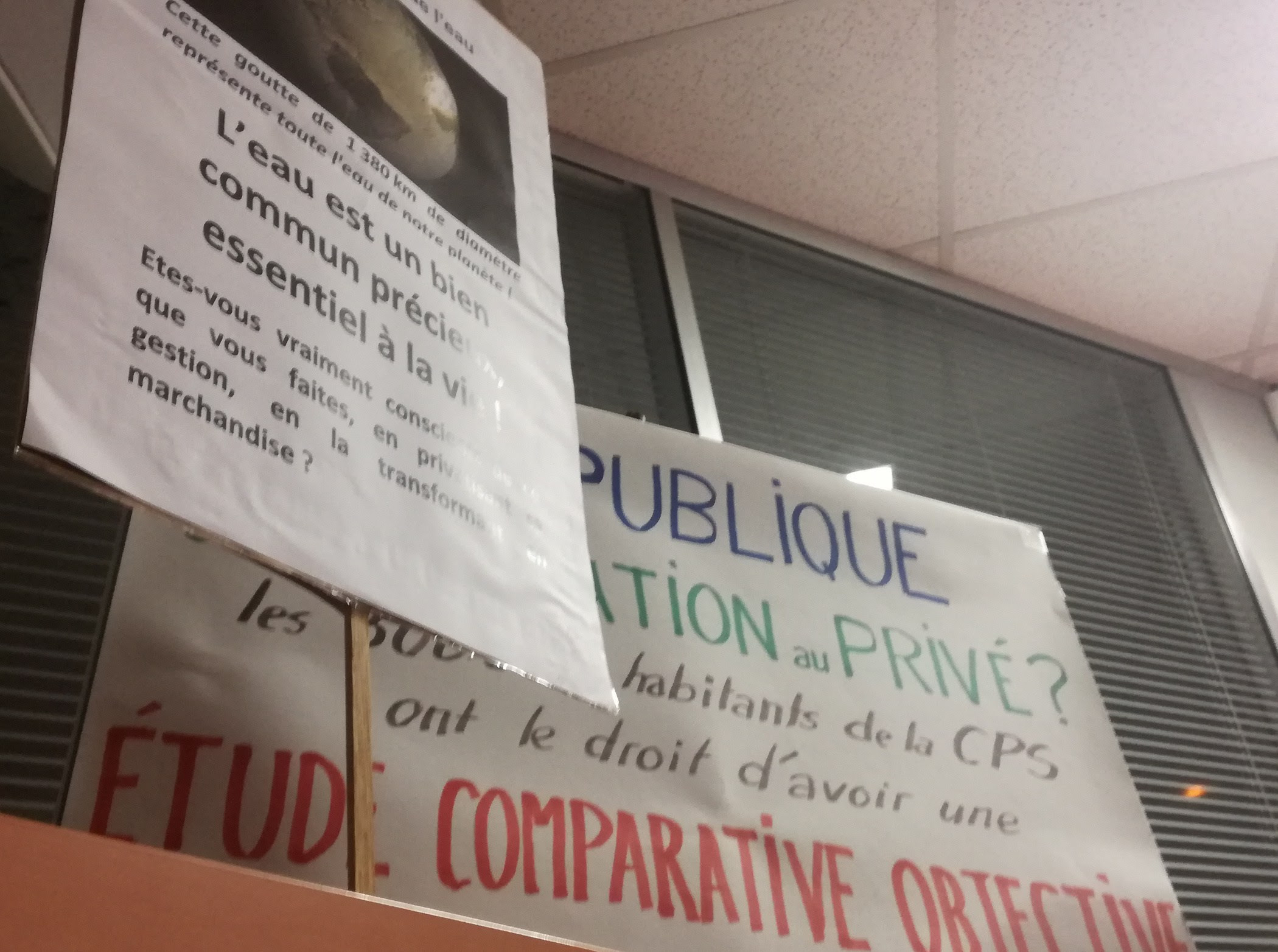 Essonne Info 23 mars 2017 : Quand le sujet de  l'eau s'invite au conseil d'agglo