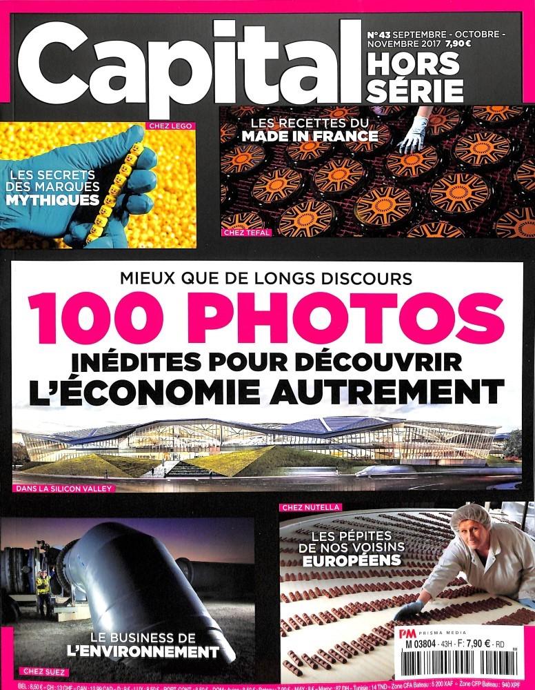 Capital Hors Série septembre 2017 : le business de l'environnement chez Suez : l'eau dessalée par Suez, plus chère que l'Evian