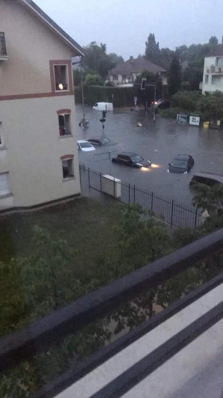 Interview dans le journal de 9h de France Bleu IdF Paris du maire de Wissous (91) sur les inondations dans sa ville dont la cause provient du mauvais entretien des bassins de rétention des eaux pluviales gérés par Suez