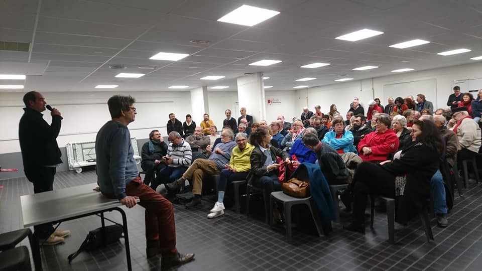 Réunion publique sur la gestion de l'eau à La Roche sur Yon et en Vendée