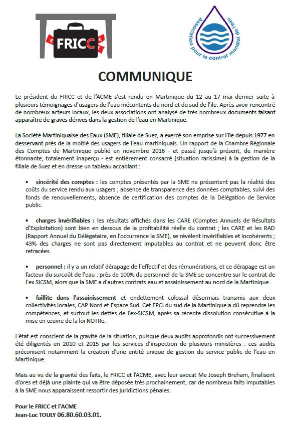 La Chambre Régionale des Comptes de Martinique est saisie à cause des 14 millions de déficit de l'Espace Sud