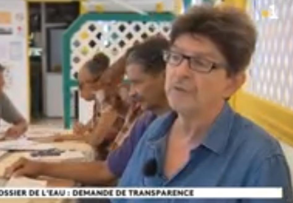 France Info Martinique 1ère 7 mai 2019 : La facture de l'eau semble de plus en plus trouble en Martinique