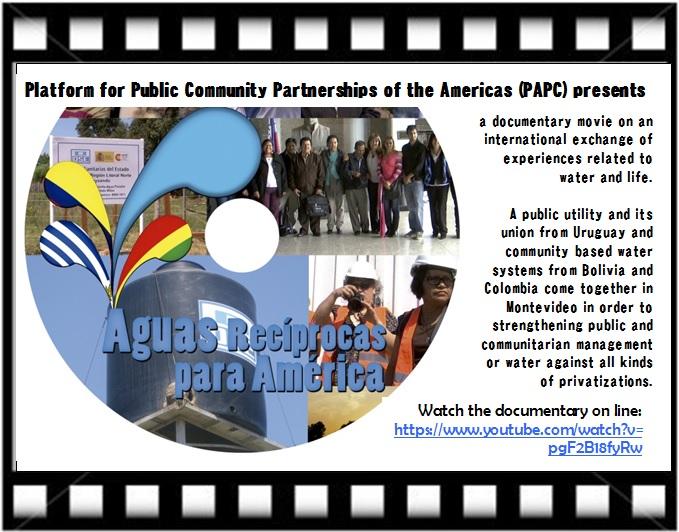 Nouveau documentaire sur un partenariat public en Amérique du Sud