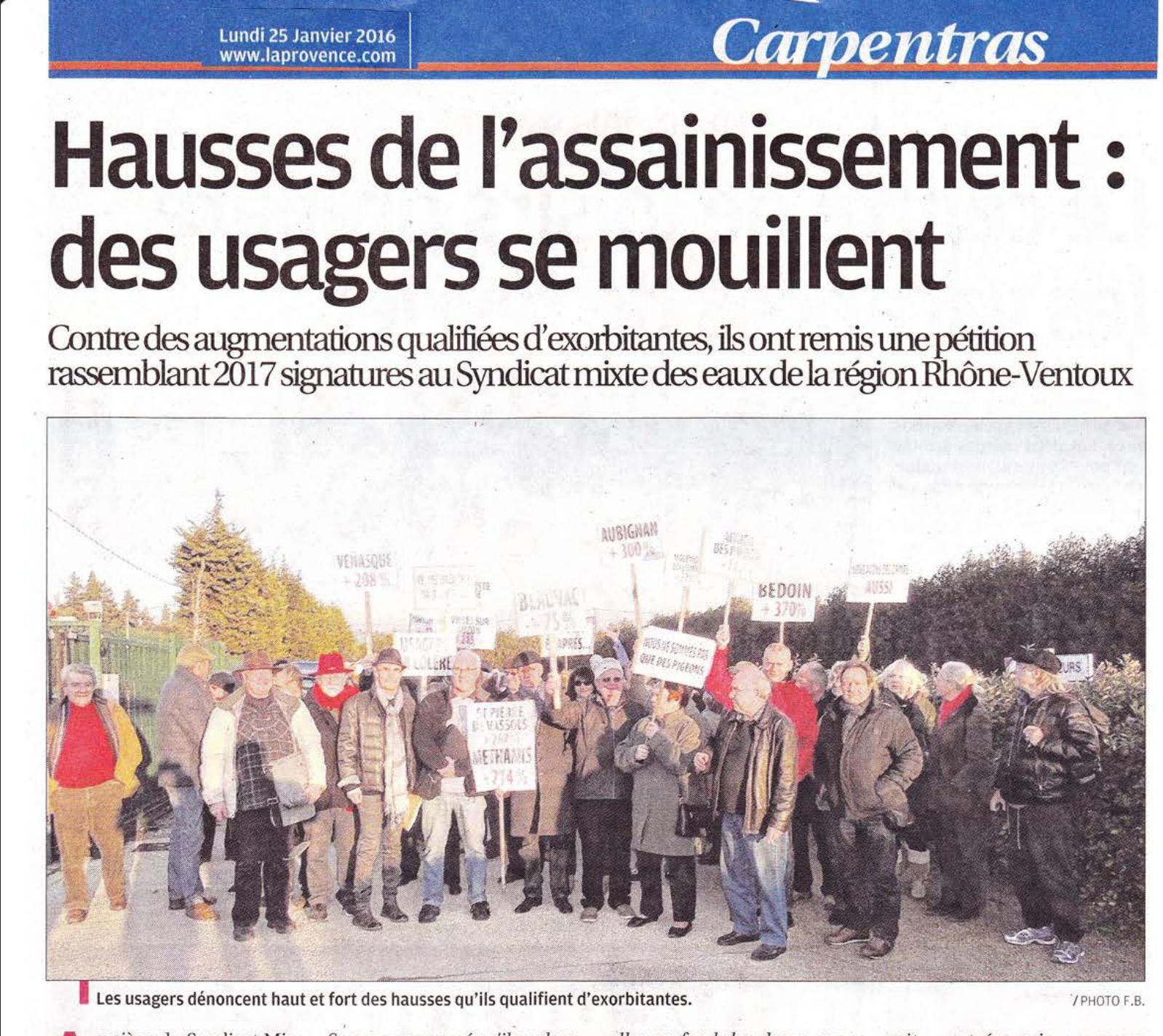Les usagers du Vaucluse se rebellent, la mobilisation réussit