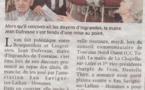 La Nouvelle République 28 avril 2018 : Touraine Nord Ouest : Navigation en eaux troubles ?