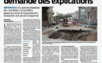 CU Bordeaux Assainissement : Trans'Cub demande des explications