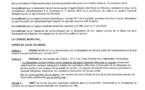 Article n°Délibération du 26.11.2018 de prise d'acte de non transmission par le délégataire Suez de son Rapport Annuel d'activité 2017 à la ville de Wissous détentrice de la compétence assainissement depuis le 1.01.2016 et ses conséquences en mat4685