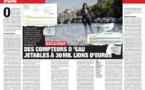 Marianne 15 mars 2019 : Eau de Paris : 94 000 compteurs d'eau jetables à 30 millions d'euros !
