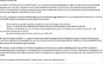 Demande du Comité Citoyen du Sud de la Martinique de création d'une commission d'enquête parlementaire sur la gestion de l'eau désastreuse en Martinique et Guadeloupe